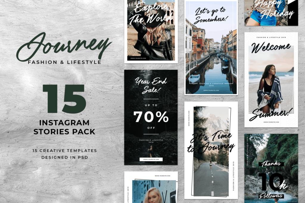Instagram Stories – Journey Dress Theme