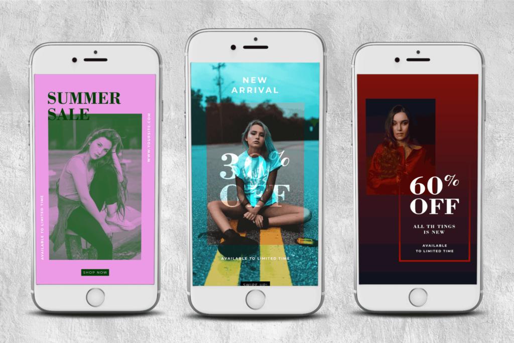 Instagram Stories – Exposure Fashion Theme