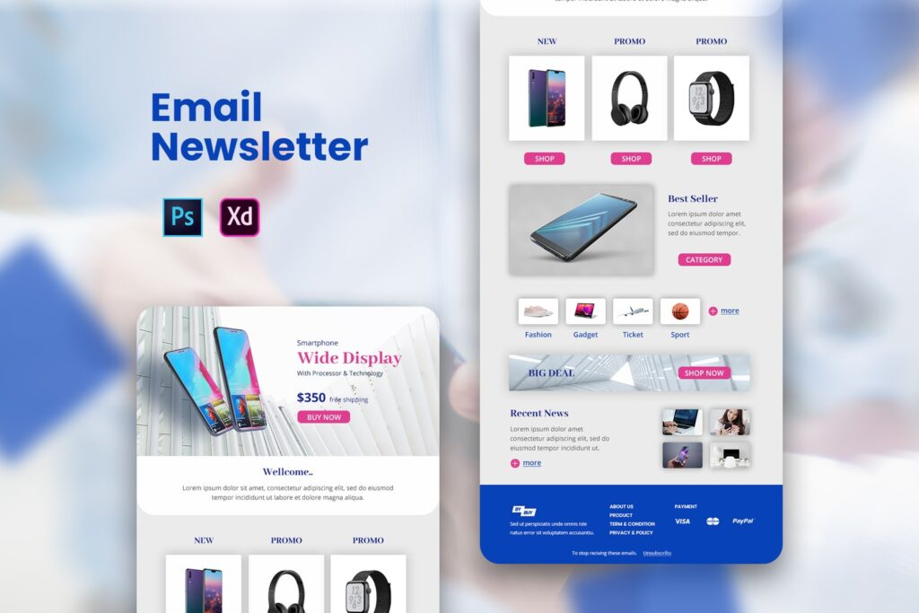 Gadget Store – Email Newsletter