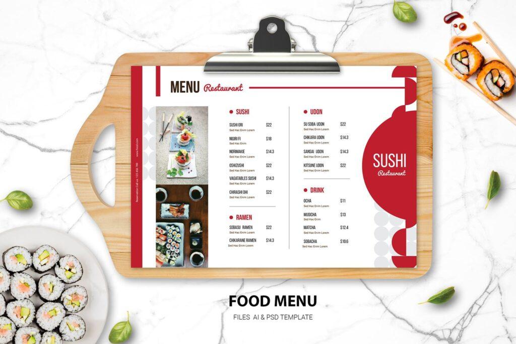Food Menu – Sushi Resto