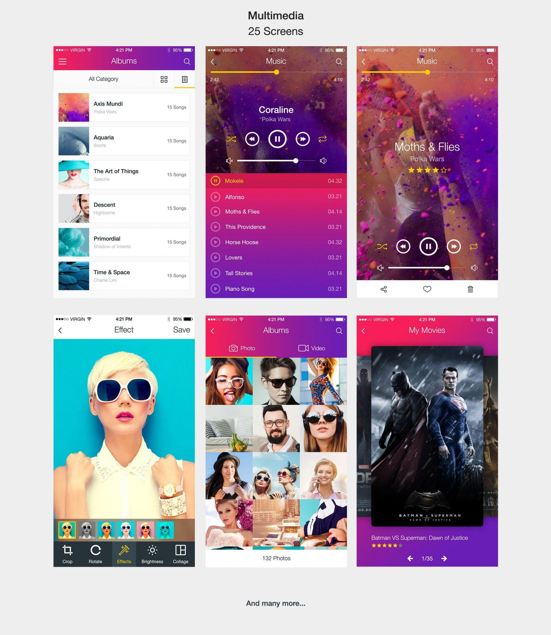 Radiant Mobile UI Kit