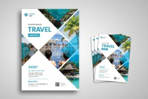 Flyer Template - Beautiful Place Travel