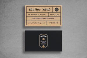 Business Card - Tailor Brand