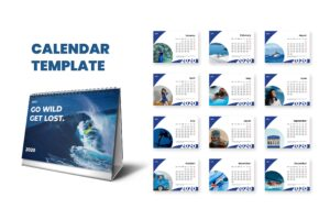 Calender - Lifestyle Template