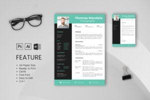 CV Resume – Photographer Profile 7