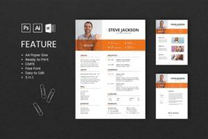 CV Resume - Content Creator Profile