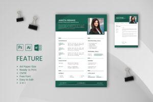 CV Resume - Human Resources Departement Profile