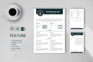 CV Resume - Professional Title 2