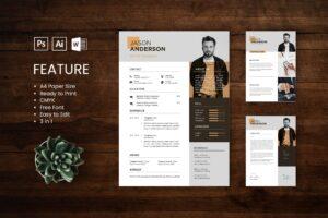 CV Resume - UI & IX Designer Profile