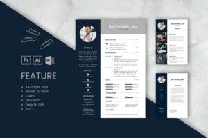 CV Resume - Web Designer Profile 2