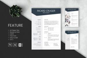 CV Resume - Web Designer Profile