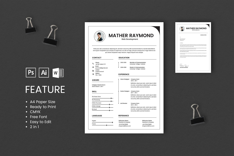 CV Resume - Web Developers Profile