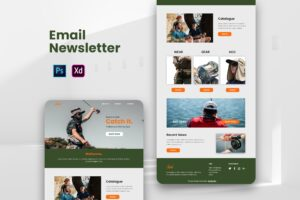 Fishing Gear Shop - Email Newsletter