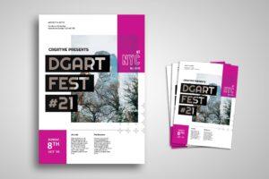 Flyer Template - Art Creative Festival