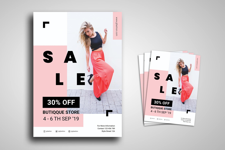 Flyer Template - Boutique Store