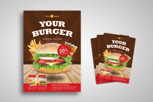 Flyer Template - Burger Package