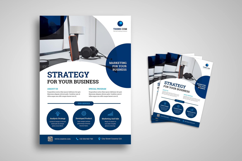 Flyer Template - Business Partner Solution