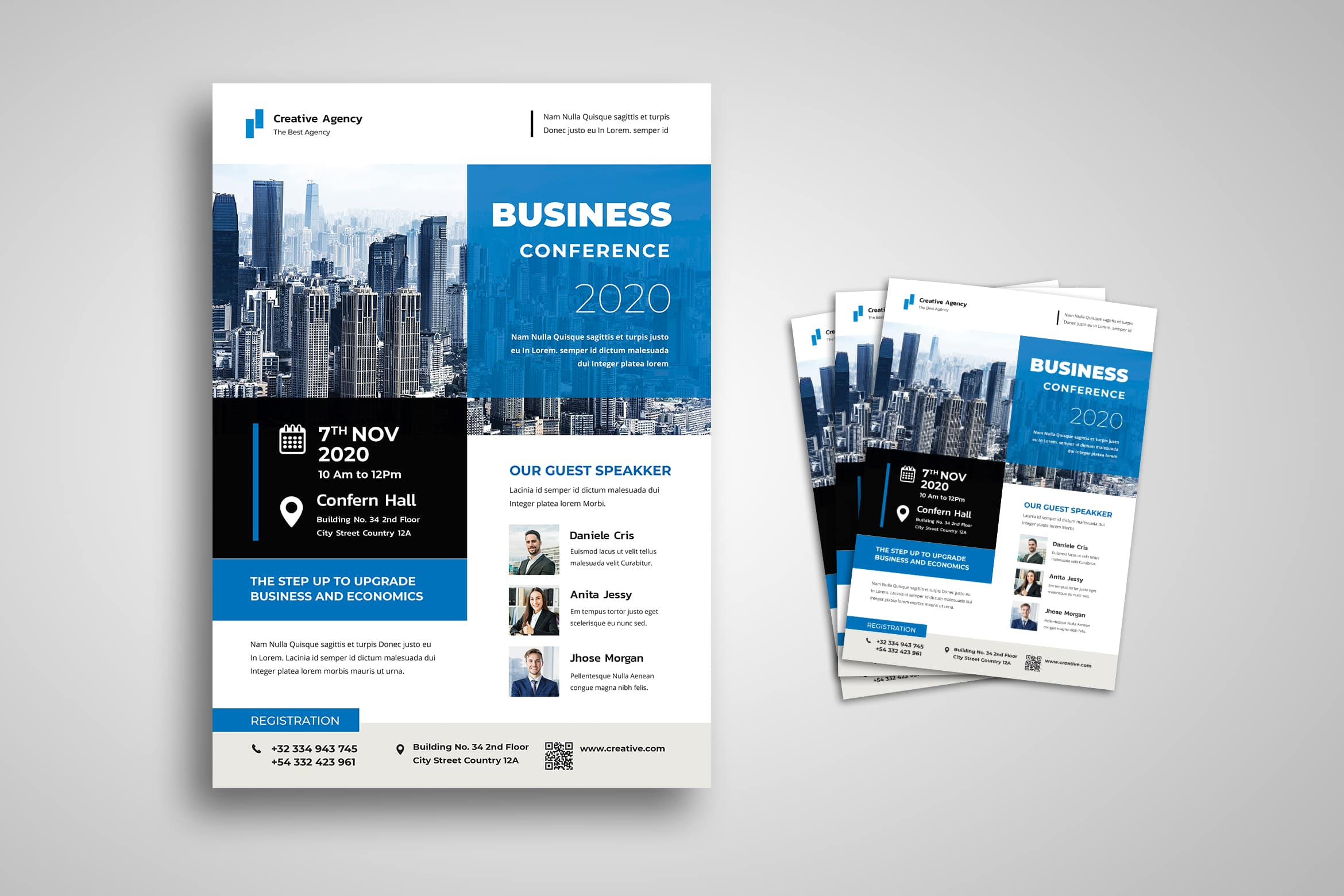 Flyer Template - Business Upgrade Services