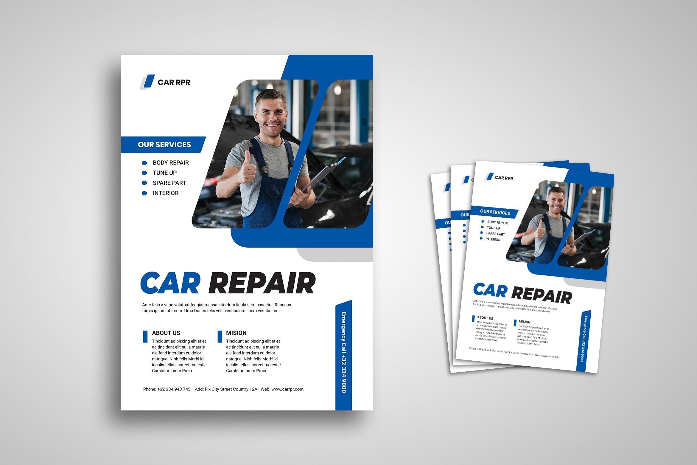 Flyer Template - Car Repair Service