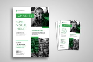 Flyer Template - Charity For Children