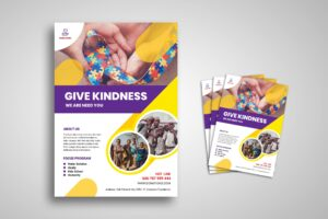Flyer Template - Charity Foundation