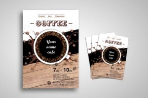 Flyer Template - Coffee Mix