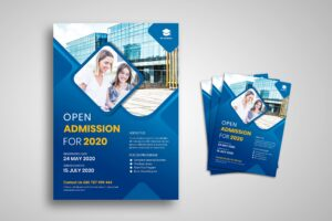 Flyer Template - College Admission Promotion