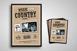 Flyer Template - Country Music Festival