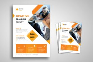 Flyer Template - Creative Branding Agency