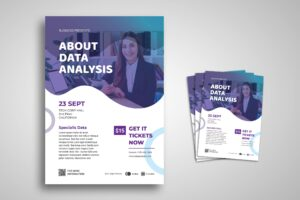 Flyer Template - Data Analysis Conference