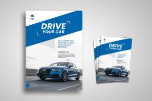 Flyer Template - Dealership Car Agency