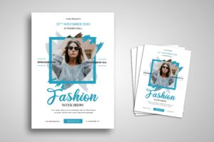 Flyer Template - Fashion Week Show