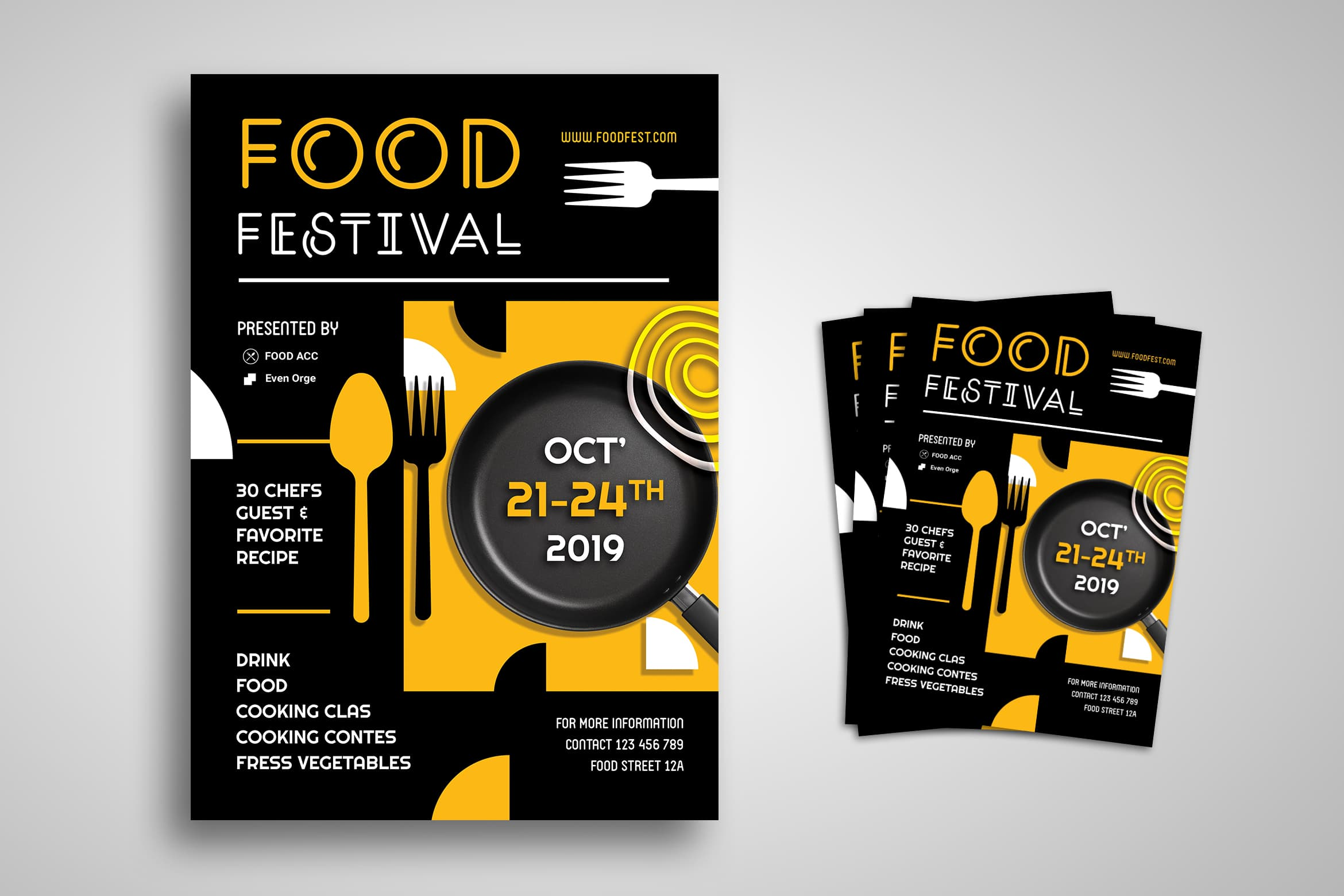 Flyer Template - Food Festival Special