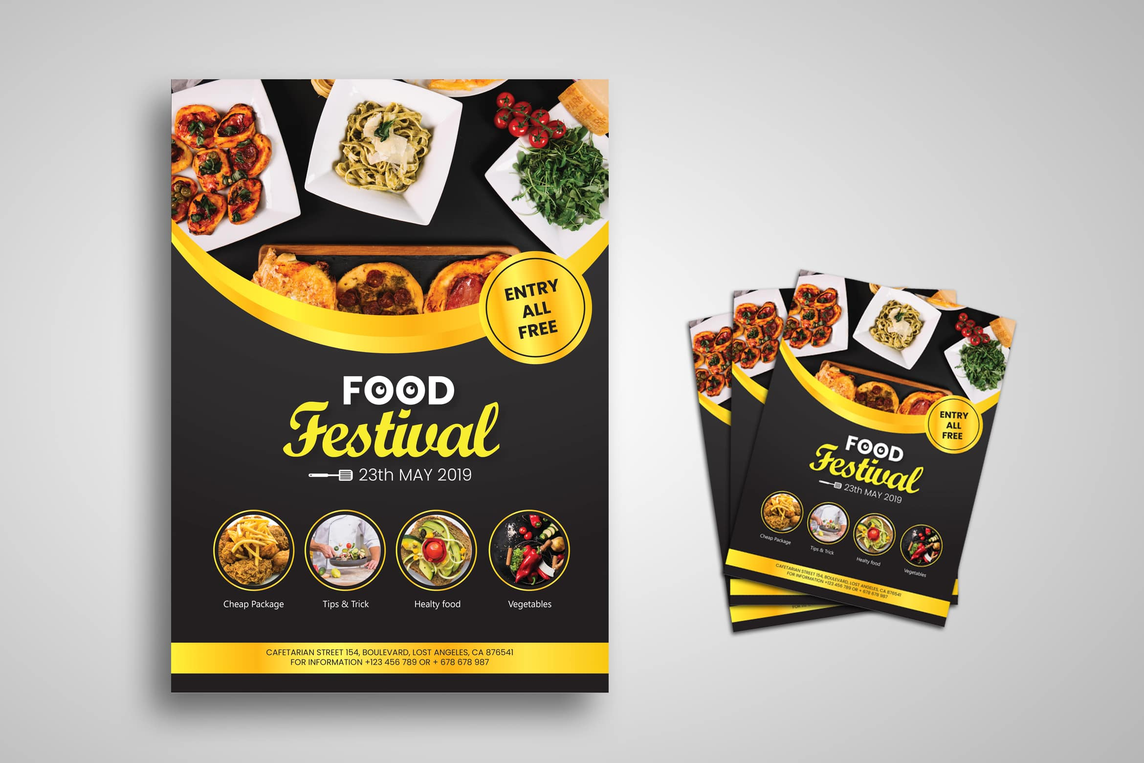 Flyer Template - Food Festival