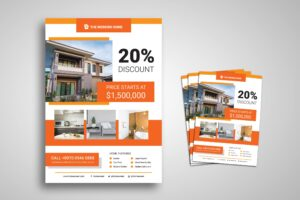 Flyer Template - Future Home Style