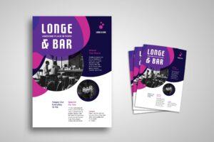 Flyer Template - Lounge & Bar