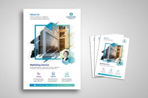 Flyer Template - Marketing Service