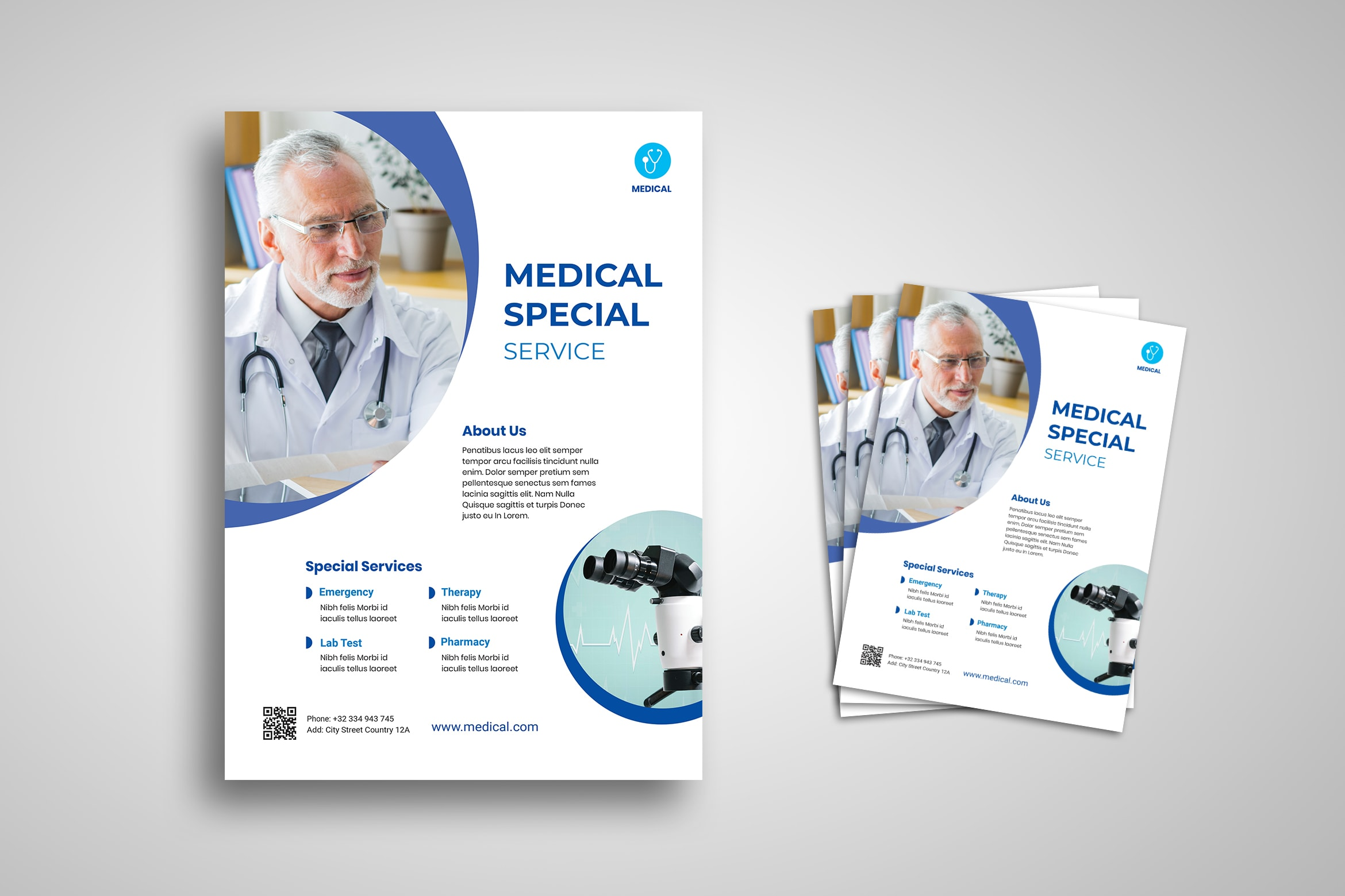Flyer Template - Medical Special Service