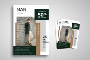 Flyer Template - Men Fashion
