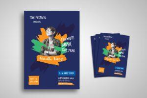Flyer Template - Music Festival Favourite
