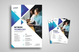 Flyer Template - Network Technology Company