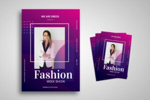 Flyer Template - Official Fashion