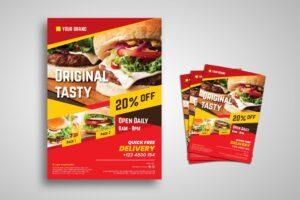 Flyer Template - Original Fast Food