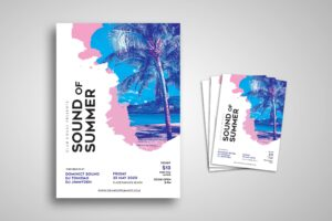 Flyer Template - Sound of Summer