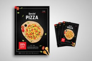 Flyer Template - Special Pizza