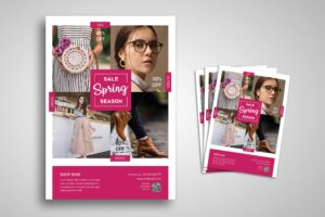 Flyer Template - Spring Season Sale