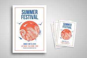 Flyer Template - Summer Festival