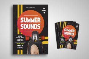 Flyer Template - Summer Sound