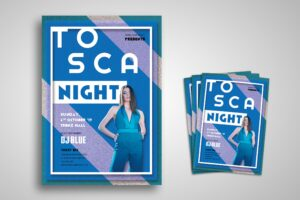 Flyer Template - Tosca Fashion Night