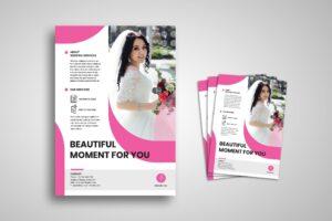 Flyer Template - Wedding Planner Service